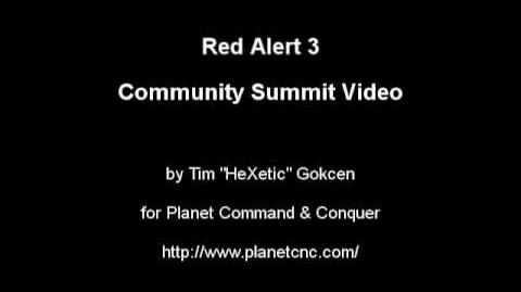 Red Alert 3 Summit Video Pt3