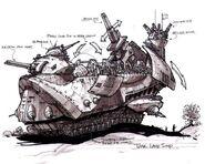 Tzar Landship concept art 2
