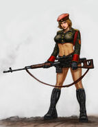 RA3 Natasha Concept Art