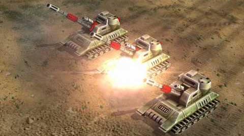 C&C Generals — Inferno Cannon Audio