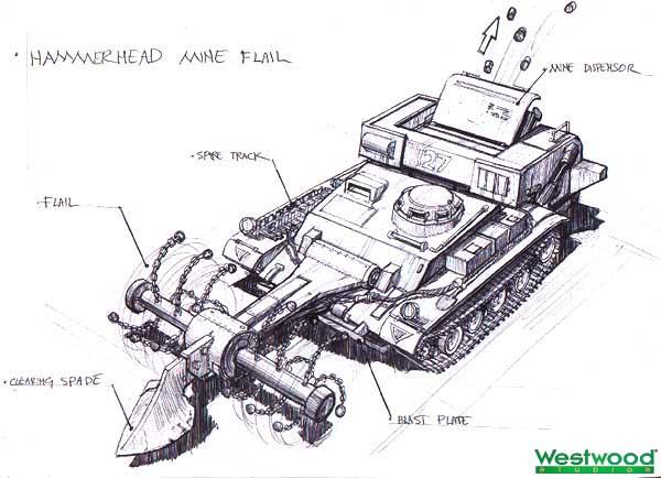 File:RA2 Hammerhead Mine Flail Concept.jpg