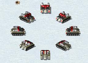 RA2 Tesla Tank