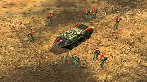 C&C Generals — Troop Crawler Audio