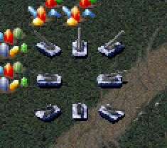 RA Artillery Ingame