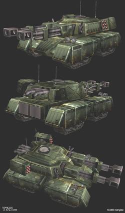 Ren2 Mammoth Tank Render