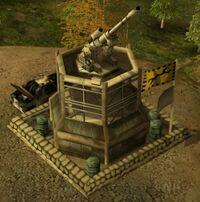 Generals Artillery Platform