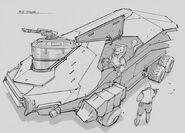 CNCTW Scorpion Tank Concept Art 12