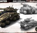 GDI Hunter Tank Profile