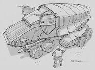 CNCTW Scorpion Tank Concept Art 11