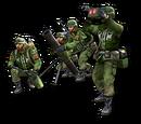 Napalm mortar squad