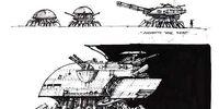 Soviet spider tank