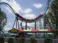 Six Flags NOLA Boomerang