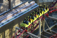 Roller Coaster @New York, New York Hotel & Casino