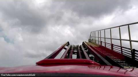 La Vibora (Six Flags Over Texas) - OnRide - (1080p)