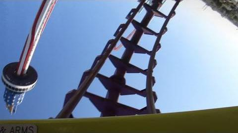 Boomerang (Knott's Berry Farm) - OnRide - (1080p)