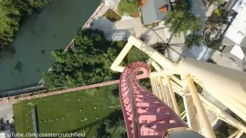 Top Thrill Dragster (Cedar Point) - OnRide (1080p)