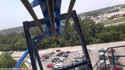 Batman The Ride (Six Flags Over Georgia) - OnRide (1080p)