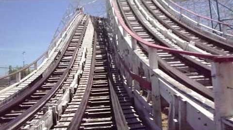 Colossus (Magic Mountain) - OnRide - (720p)