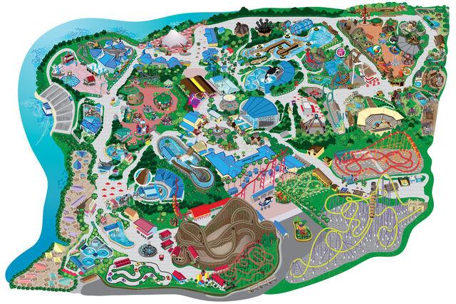 File:Six Flags Discovery Kingdom map.jpg