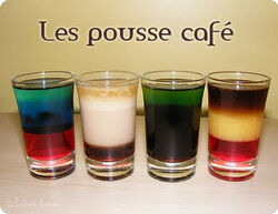 Pousse cafe examples