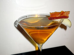 Bacon martini whattha
