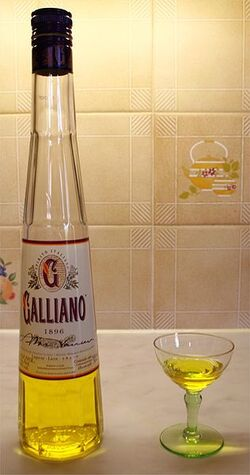 316px-Galliano-and-glass