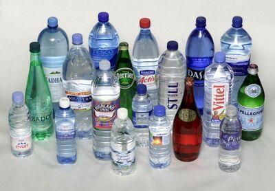 Mineral water varieties