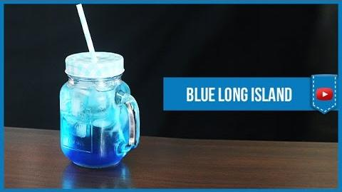 Blue Long Island Iced Tea - How to make Video Cocktail Recipe by Drink Lab (Popular)