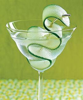 Cucumber-sake