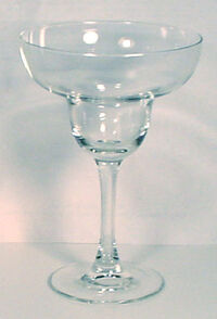 Margarita glass 300x441