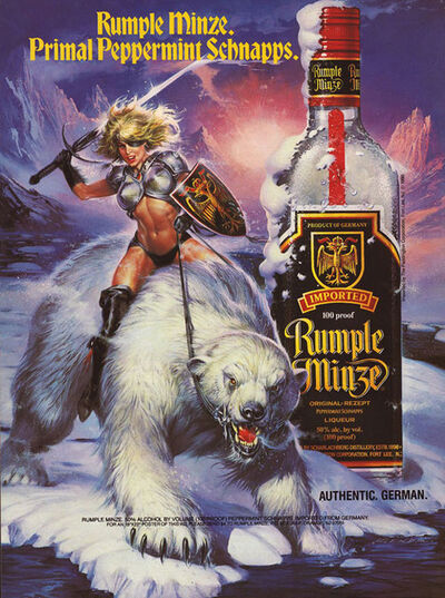 Rumple Minze ad