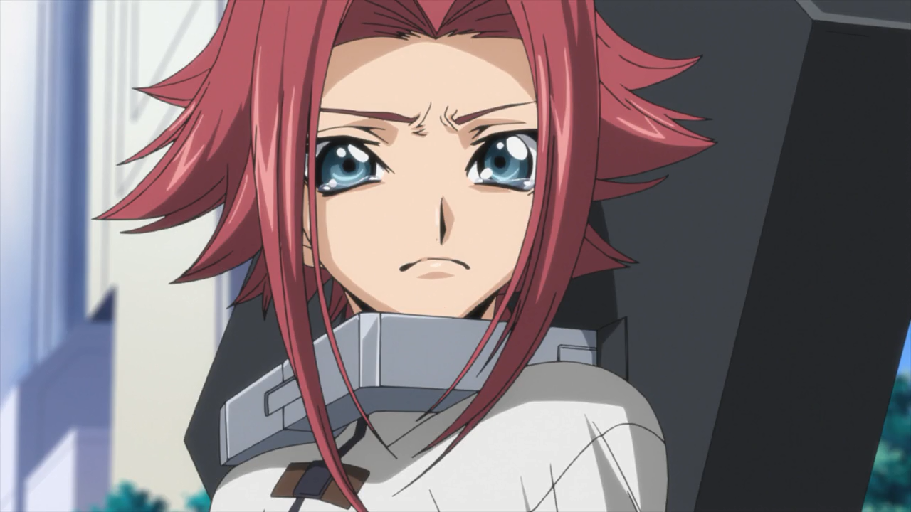 Image Kallen Crying After Learning The Truth Of The Zero
