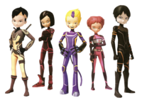 Lyoko Warriors in Evolution