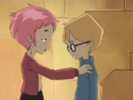 False Start - Aelita reassuring Jeremie