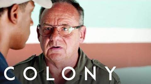 Colony Paul Guilfoyle - Behind the Scenes Interview