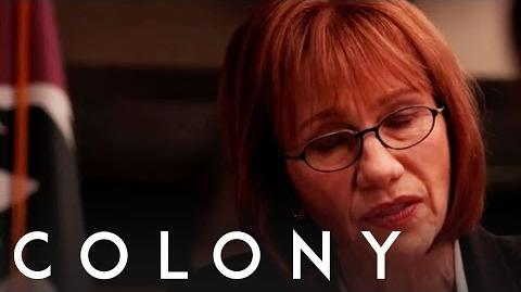 Colony Kathy Baker - Behind the Scenes Interview