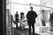 Amanda Righetti as Maddie Bowman and Adrian Pasdar as Nolan Burgess