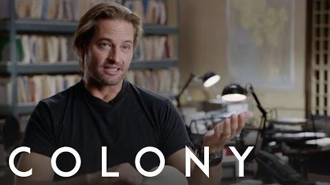 Colony Josh Holloway - Behind the Scenes Interview
