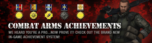 Combat Arms Achievement banner