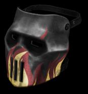Skull Mask (Flames) High Resolution
