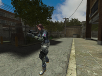 Hana's Mac-10 in-game