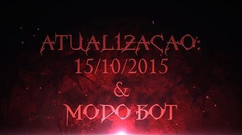 Notas de Atualização (15 10 2015) Modo Bot