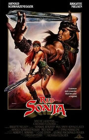 Red sonja film poster