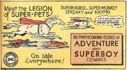 Legion of super-pets ad