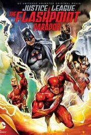Flashpoint paradox lettered