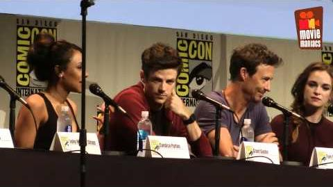 The Flash - full panel SDCC 2015