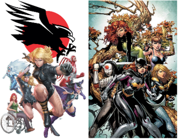 Birds of prey splash