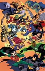 Teen titans vs jlu