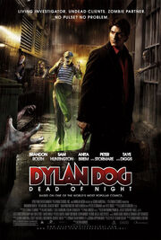 Dylan dog movie poster