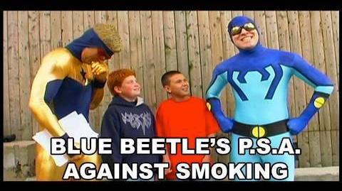 The Blue Beetle's PSA